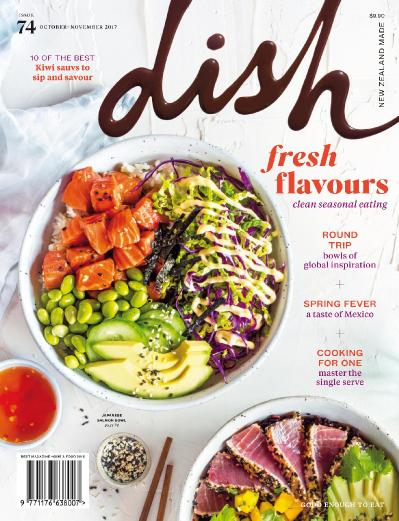 Dish  Issue 74  October-November (2017)