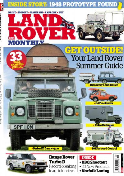 Land Rover Monthly - June (2018)
