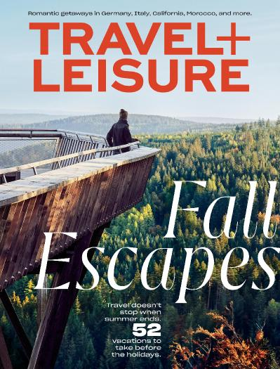 Travel Leisure USA - October (2019)