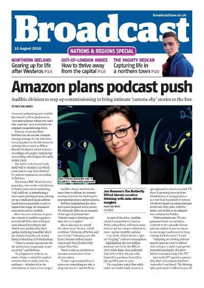 Broadcast Magazine  10 August (2018)