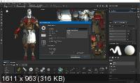 Allegorithmic Substance Painter 2019.2.2 Build 3345
