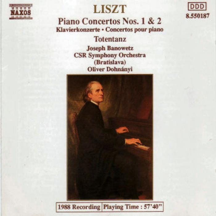 Liszt   Piano Concertos Nos  1 & 2, Totentanz   CSR Symphony Orchestra (Bratislava...