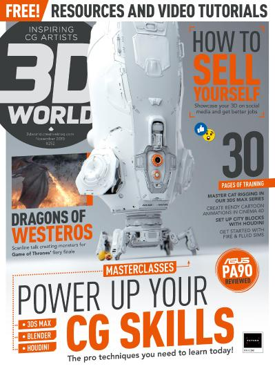 3D World UK - November (2019)