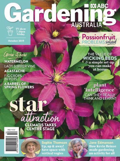 Gardening Australia - October (2019)