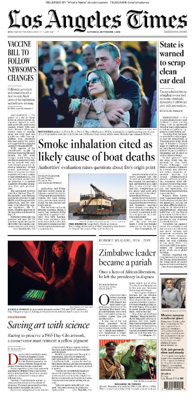 Los Angeles Times - 07 09 (2019)