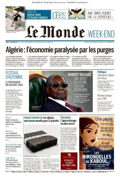 Le Monde - 07 09 (2019)