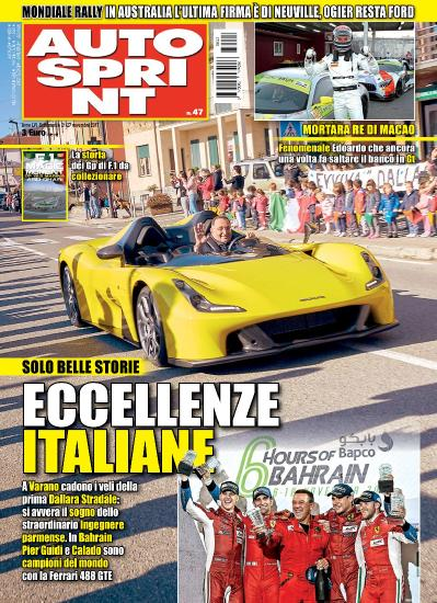 Auto Sprint  21 Novembre (2017)
