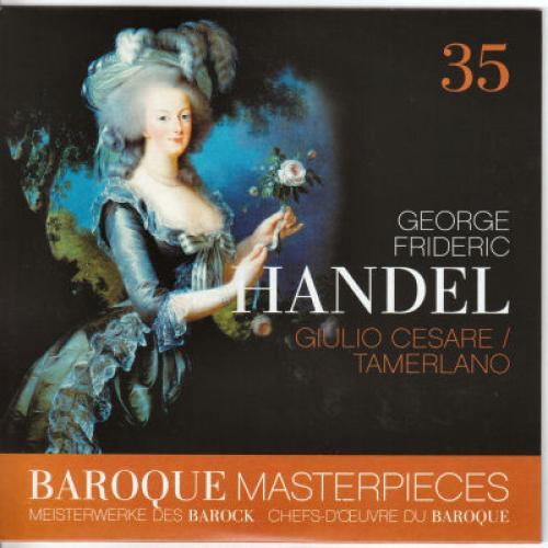 Handel   Giulio Cesare, Tamerlano   La Grande Écurie et La Chambre du Roy, Malgoir...
