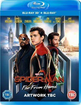 Человек-паук: Вдали от дома / Spider-Man: Far from Home (2019) BDRemux 1080p | 3D-Video | iTunes