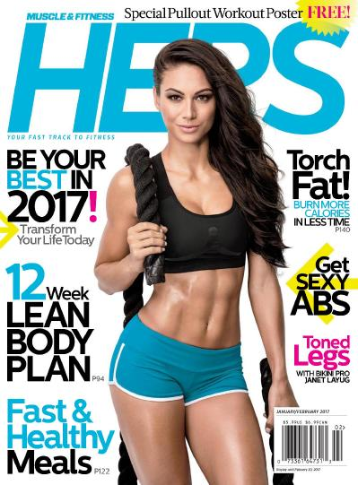Muscle & & Fitness Hers  December (2017)