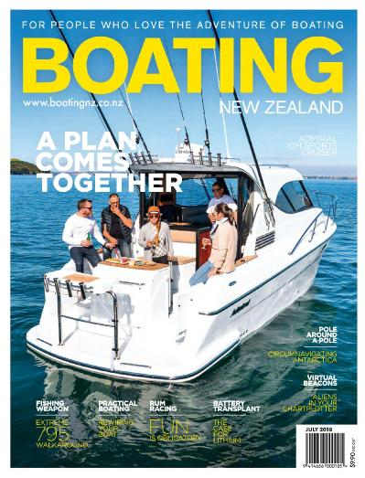 Boating New Zealand - July (2018)