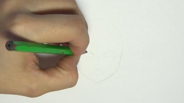 How to draw a female Anime Manga portrait for beginners