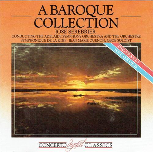 A Baroque Collection   Adelaide Symphony Orchestra, Orchestre Symphonique De La RT...