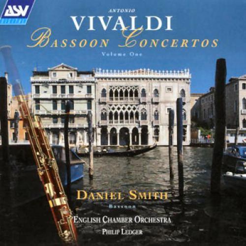 Vivaldi   Bassoon Concertos   English Chamber Orchestra, Philip Ledger, Daniel Smith