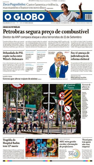 O Globo - 17 09 (2019)