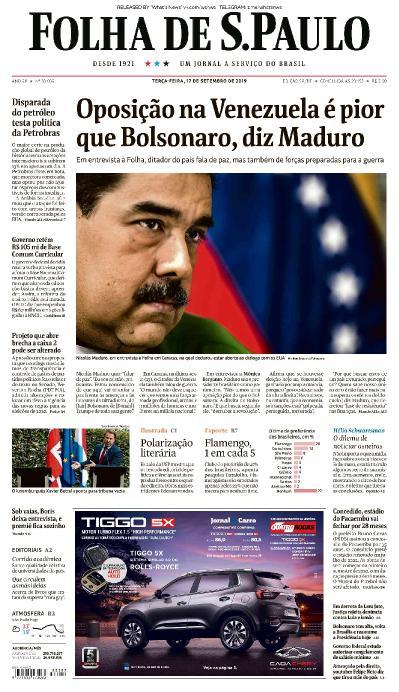 Folha de S 227 o Paulo - 17 09 (2019)