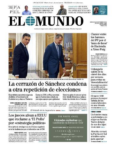 El Mundo - 18 09 (2019)