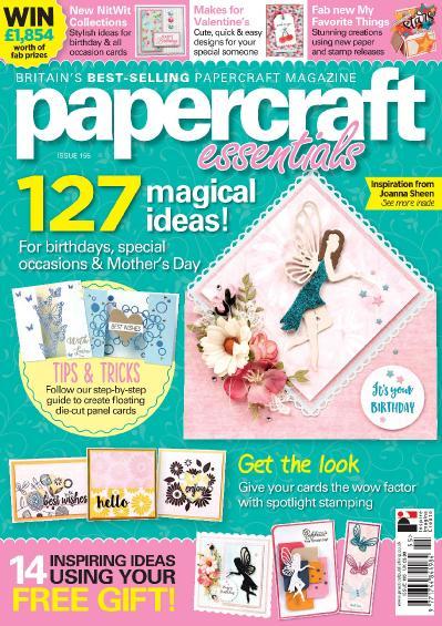 Papercraft Essentials  Issue 155 (2018)