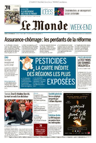 Le Monde - 21 09 (2019)