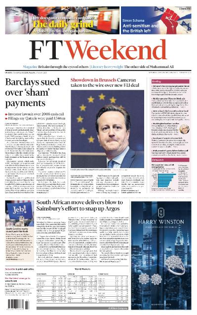 Financial Times UK - 20-21 February (2016)