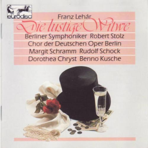 Lehar   Berlin Symphony Orchestra, Robert Stolz   Die lustige Witwe   The Merry Wi...