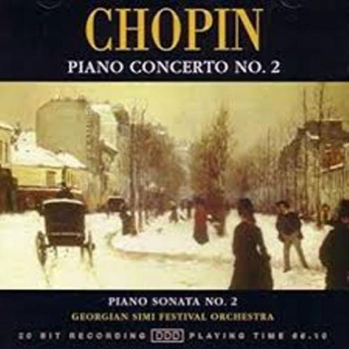 Chopin   Piano Concerto No 2    Georgian Simi Festival Orchestra, Nodar Tsatishvili
